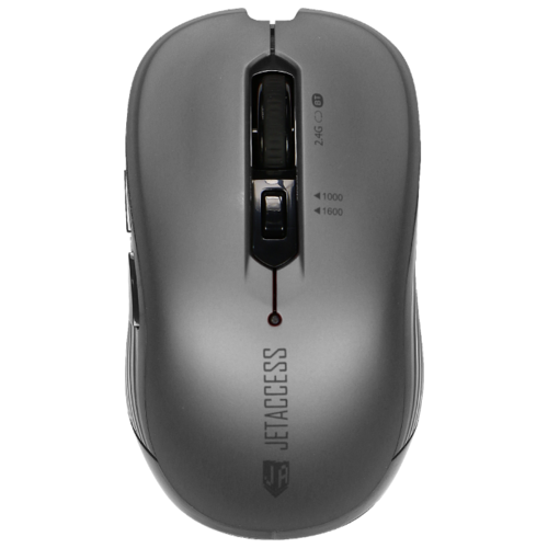 Беспроводная мышь Jet.A Comfort OM-B90G USB+Bluetooth серый мышь беспроводная jet a comfort om u36g чёрный usb