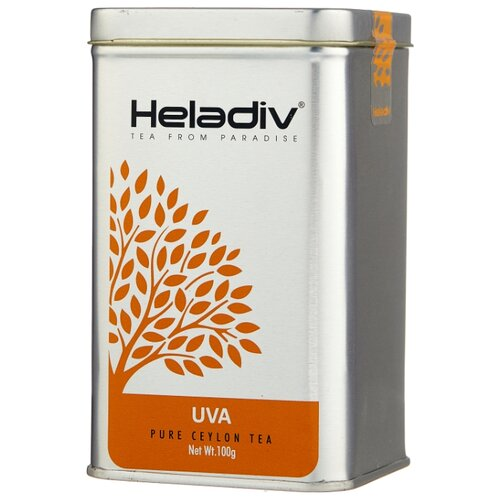 Фото - Чай черный Heladiv Uva, 100 г чай черный heladiv hd rasberry 100 gr round p t
