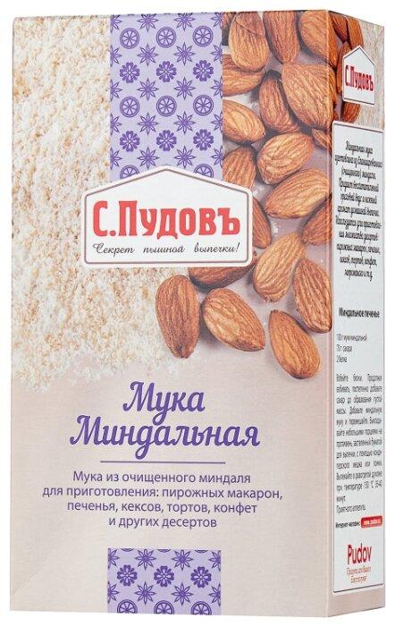 Мука С.Пудовъ миндальная, 0.1 кг