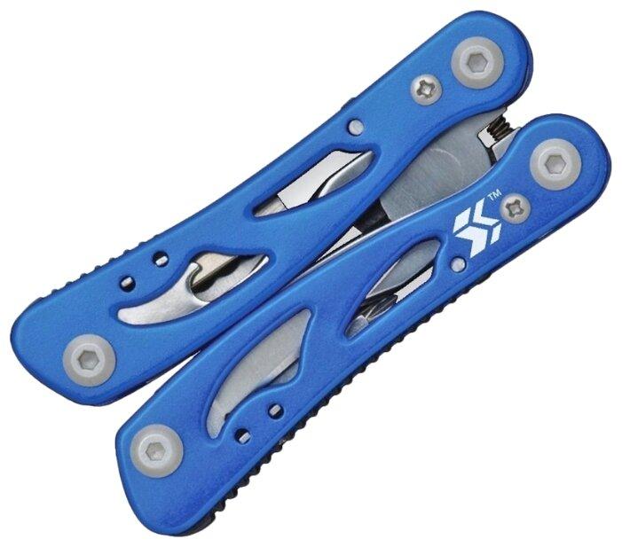 Swiss+Tech Мультиинструмент Pocket Multi Tool (12 инстр.) Синий (ST35015)