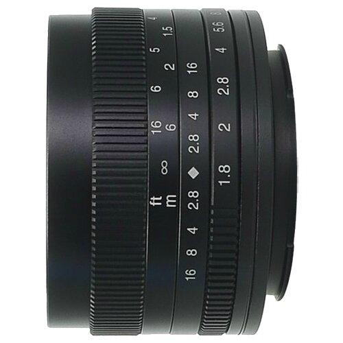 Фото - Объектив 7artisans 50mm f/1.8 Sony E черный объектив