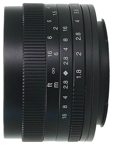 Объектив 7artisans 50mm f/1.8 Sony E