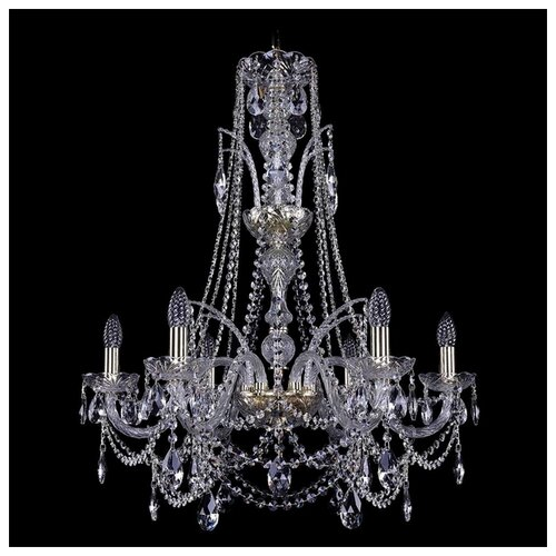 Фото - Люстра Bohemia Ivele Crystal 1411 1411/6/240/XL-83/G, E14, 240 Вт люстра bohemia ivele crystal 1411 1411 6 141 g e14 240 вт