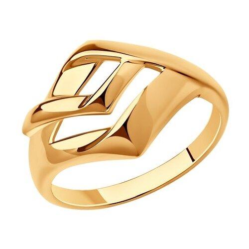Diamant Кольцо из золочёного серебра 93-110-00620-1, размер 17 diamant кольцо из золочёного серебра 93 110 00601 1 размер 17