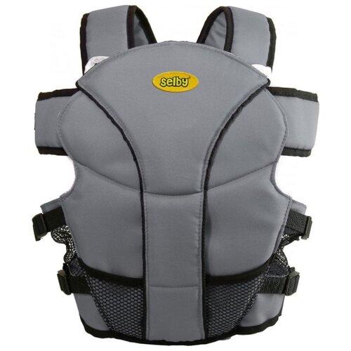 Купить Рюкзак-переноска Selby Люкс серый, Рюкзаки и сумки-кенгуру