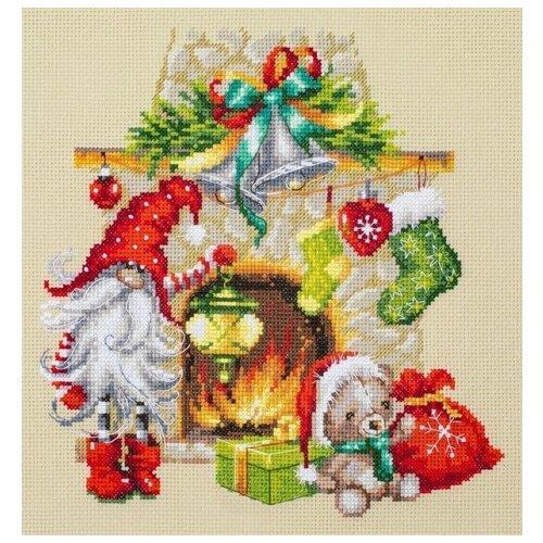 Чудесная Игла Набор для вышивания В ожидании Рождества 22 х 22 см (100-251) набор для вышивания крестом чудесная игла утопаю в любви 13 х 12 см