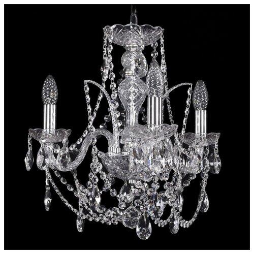 Фото - Люстра Bohemia Ivele Crystal 1411 1411/3/141/Ni, E14, 120 Вт люстра bohemia ivele crystal 1411 1411 6 141 g e14 240 вт