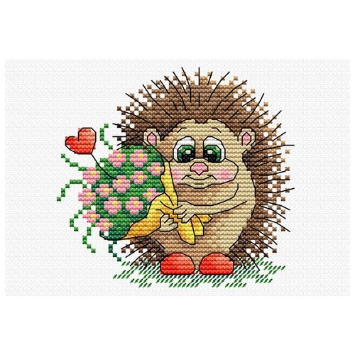 Купить Набор для вышивания М №03 №211 К тебе с любовью 15 х 10 см, Жар-птица, Наборы для вышивания