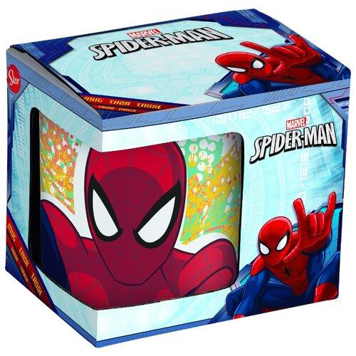 Фото - Stor Кружка Великий Человек-паук №4 в подарочной упаковке 325 мл белый/красный stor кружка мстители 4