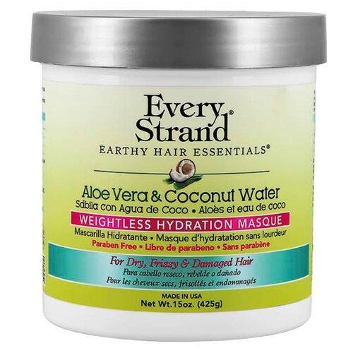 Купить Every Strand Маска для волос с соком алоэ вера и кокосовой водой, 425 г