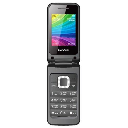 Телефон teXet TM-204 черный телефон texet tm 204 красный