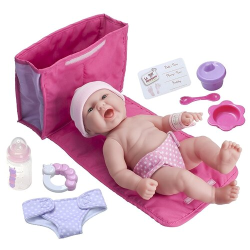 Купить Кукла JC Toys BERENGUER Newborn, 33 см, JC18332, Куклы и пупсы