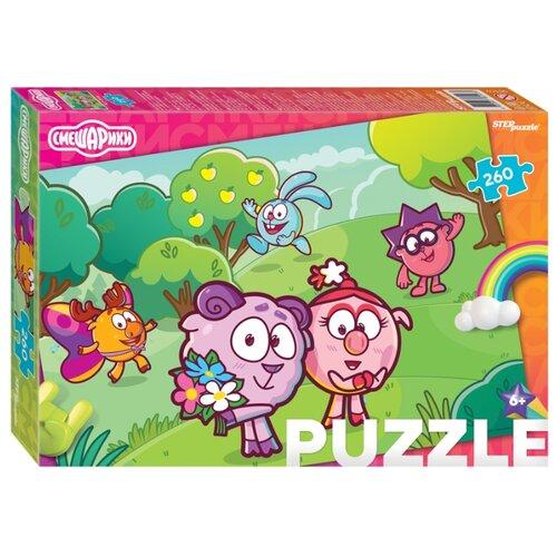 Мозаика puzzle 260 Смешарики (Мармелад Медиа)