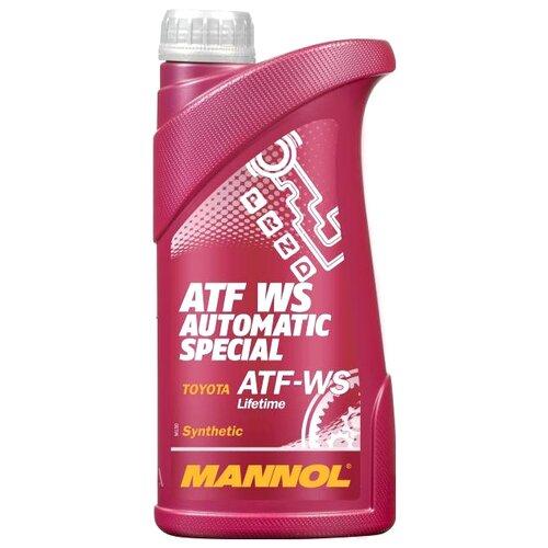 Трансмиссионное масло Mannol ATF WS Automatic Special 1 л трансмиссионное масло totachi atf ws 1 л 1 кг