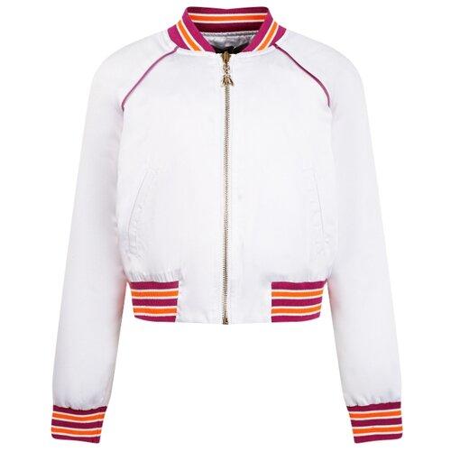 Куртка PATRIZIA PEPE JFCT0313320101 размер 152, белый джинсы patrizia pepe размер 152 0325 белый зеленый