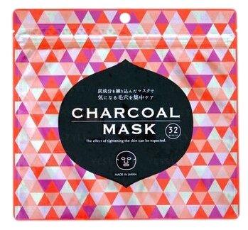 SPC тканевая маска с древесным углем и растительными экстрактами