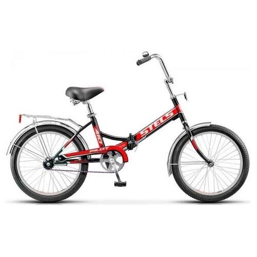цена на Городской велосипед STELS Pilot 410 20 (2016) черный/красный 15