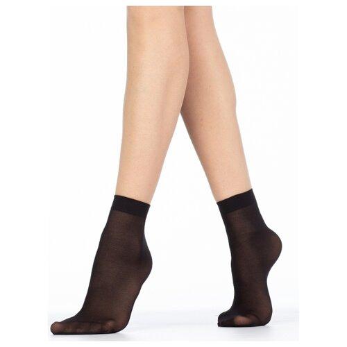 Капроновые носки Golden Lady Mio 40 Den, 2 пары, размер 0 (one size), nero
