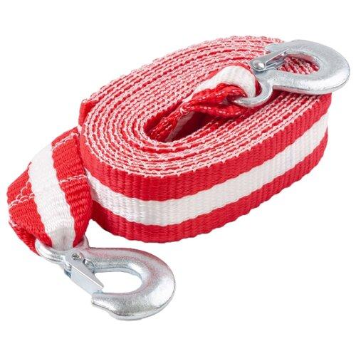 цена на Ленточный буксировочный трос AUTOPROFI TRL-70 5 м (7 т) красный/белый