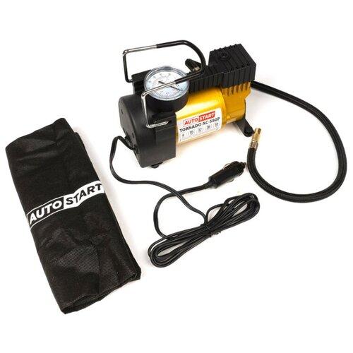 Компрессор автомобильный поршневой AUTOSTART TORNADO АС-580P( 35л/мин, до 6 Атм)
