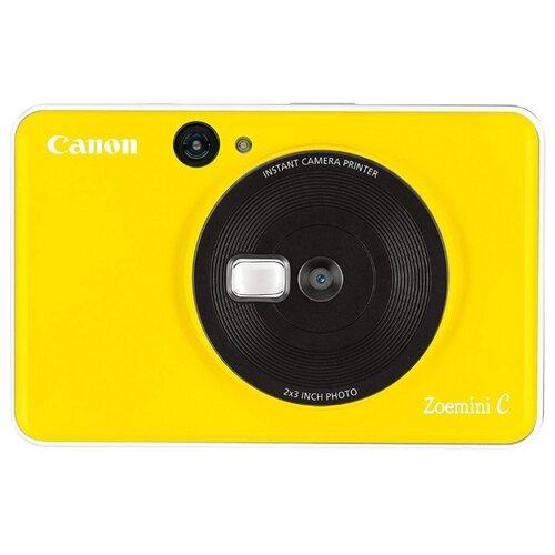 Фото - Фотоаппарат моментальной печати Canon Zoemini C, желтый фотоаппарат моментальной печати canon zoemini c цвет морской волны