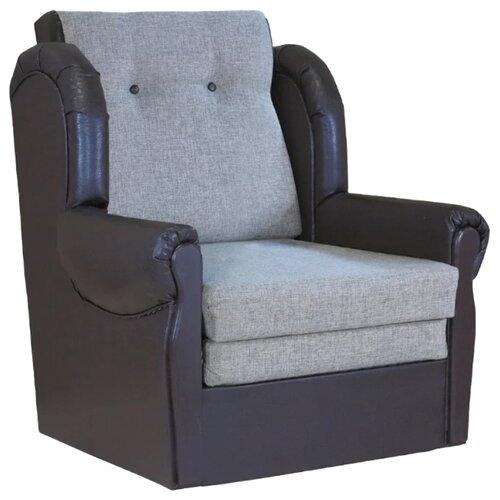 Кресло-кровать Шарм-Дизайн Классика М размер: 87х83 см, , размер спального места: 199х62 см, обивка: комбинированная, цвет: шенилл серый