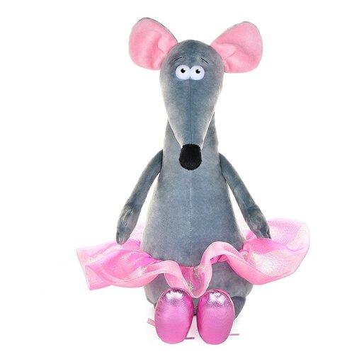 Купить Мягкая игрушка Maxitoys Крыска Лариска балерина 23 см, Мягкие игрушки