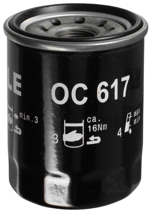 Масляный фильтр MAHLE OC 617