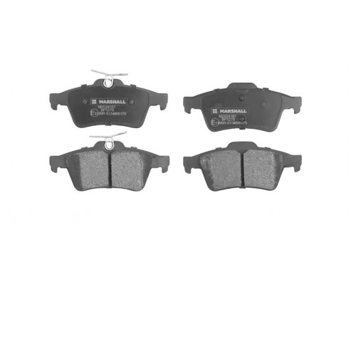 Фото - Дисковые тормозные колодки задние Marshall M262416 для Citroen, Ford, Mazda, Nissan, Opel (4 шт.) дисковые тормозные колодки передние ferodo fdb4446 для mazda 3 mazda cx 3 4 шт