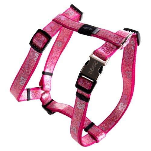 Шлейка Rogz Trendy M (SJ523) розовый