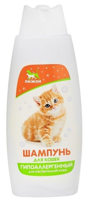 Шампунь Пижон для кошек Гипоаллергенный для чувствительной