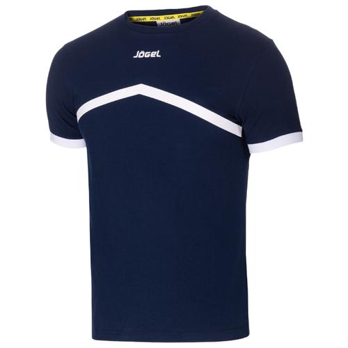 Футболка Jogel JCT-1040 размер YL, темно-синий/белый