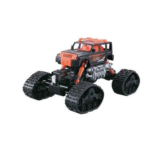 Вездеход Пламенный мотор Краулер Вездеход (870431/870432) 29.5 см оранжевый/черный внедорожник пламенный мотор краулер штурм 870427 28 см черный зеленый