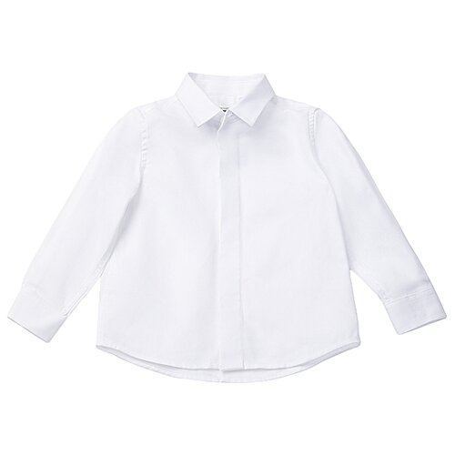 Купить Рубашка Gulliver размер 122, белый, Рубашки