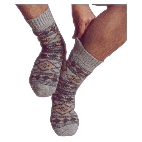 Носки шерстяные Бабушкины носки N6R95-1 размер 44-46