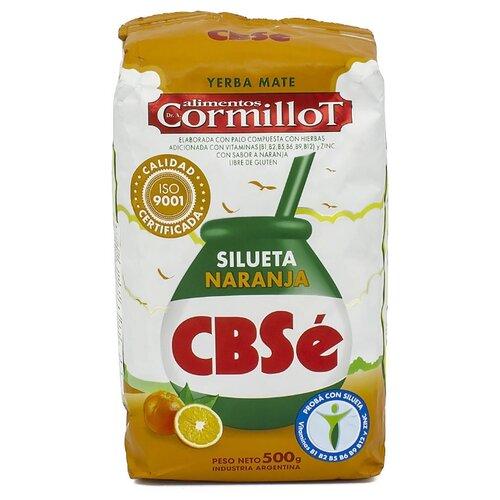 Чай травяной CBSe Yerba mate Cormillot Silueta naranja , 500 г чай травяной amanda yerba mate naranja 500 г