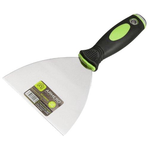 цена на Шпатель малярный Armero A200/125 125 мм черно-зеленый
