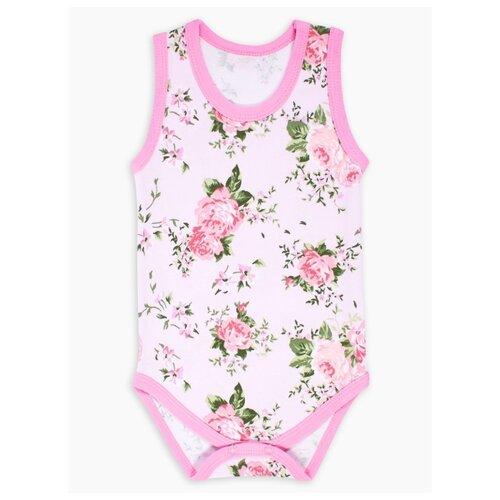 Купить Боди Веселый Малыш размер 86, розовый