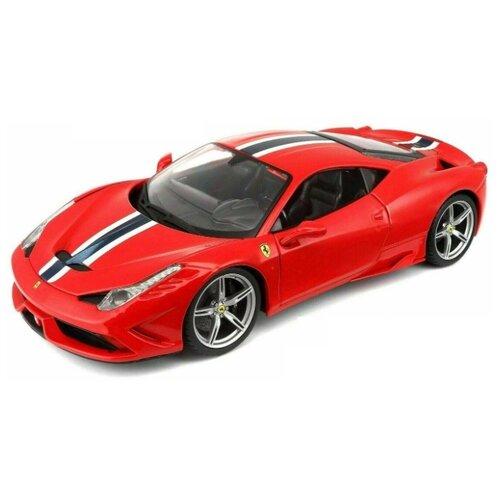 Легковой автомобиль Bburago Ferrari 458 Speciale (18-16002) 1:18 25.5 см красный легковой автомобиль rastar ferrari 458 italia 47300 1 14 32 5 см красный