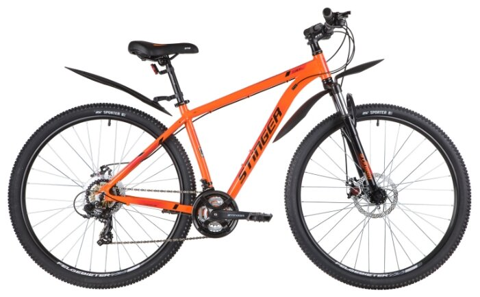 Горный (MTB) велосипед Stinger Element Evo 27.5 TY300 (2020) с крыл... — купить по выгодной цене на Яндекс.Маркете