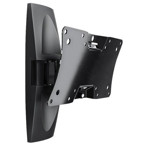 Фото - Кронштейн на стену Holder LCDS-5062 черный кронштейн для телевизоров holder lcds 5066 черный глянец