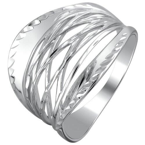 Эстет Кольцо из серебра 48К752555, размер 17 фото