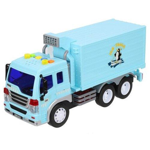 Купить Фургон WenYi WY300A 1:16 26 см голубой, Машинки и техника