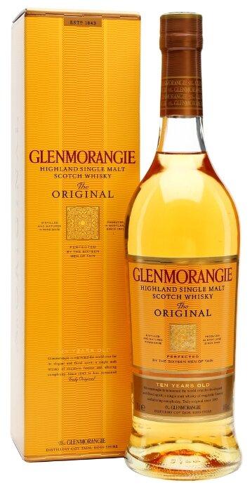 Виски Glenmorangie The Original 10 лет 0,5 л, подарочная упаковка