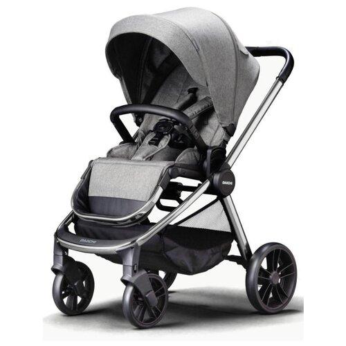 Купить Прогулочная коляска Daiichi Allee misty grey/chrome, цвет шасси: серебристый, Коляски