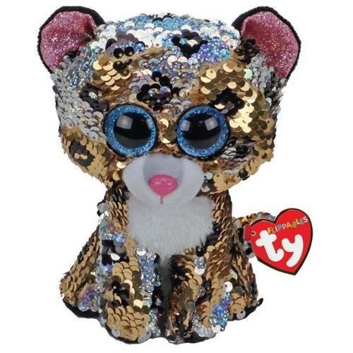 Купить Мягкая игрушка TY Flippables Леопард Sterling 25 см, Мягкие игрушки