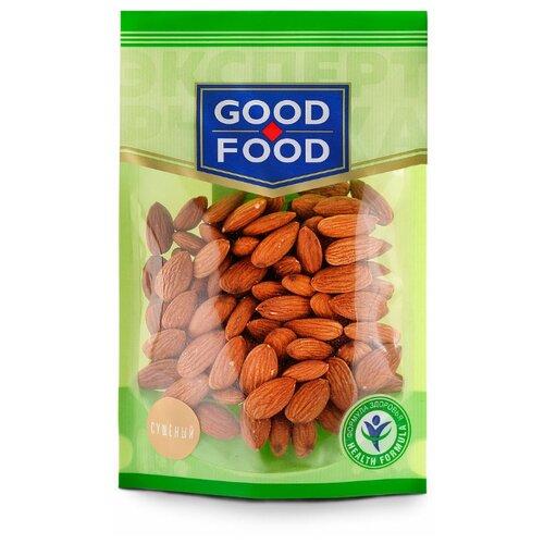 Миндаль GOOD FOOD сушеный, пластиковый пакет 130 г конфеты good food марципановое пралине пакет 200 г