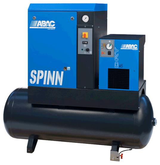 Компрессор масляный ABAC SPINN E 2.2-10/200 V220, 200 л, 2.2 кВт