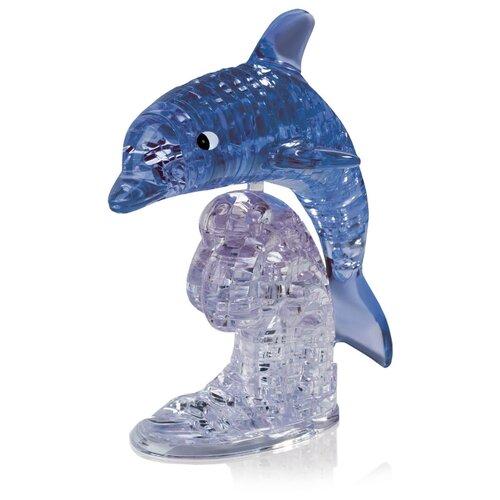 Купить Дельфин на подставке со светом синий, Hobby Day, Головоломки