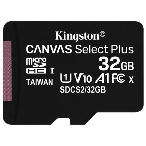 Фото - Карта памяти MicroSD 32GB Kingston Class 10 Canvas Select Plus A1 (100 Mb/s) без адаптера карта памяти kingston canvas select plus microsd 128gb class 10